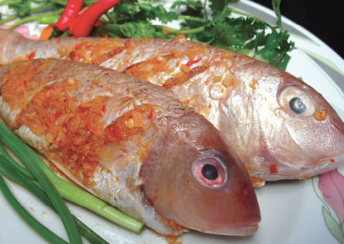 King snapper  marinated  social & chili<br />Weight: 500g<br />Carton: 500g  x 20 trays = 10kg<br />