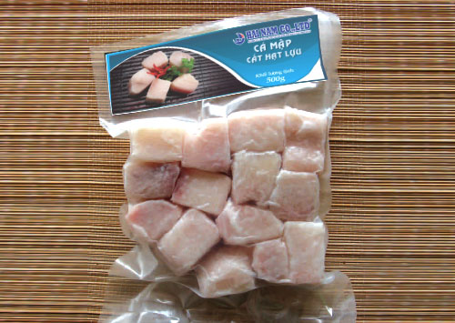 Shark cube<br />Weight: 500g<br />Carton: 500g x 24 packs = 12kg