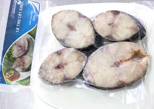 <br />Wahoo slice<br />Weight: 500g<br />Carton: 500g  x 24 packs = 12kg