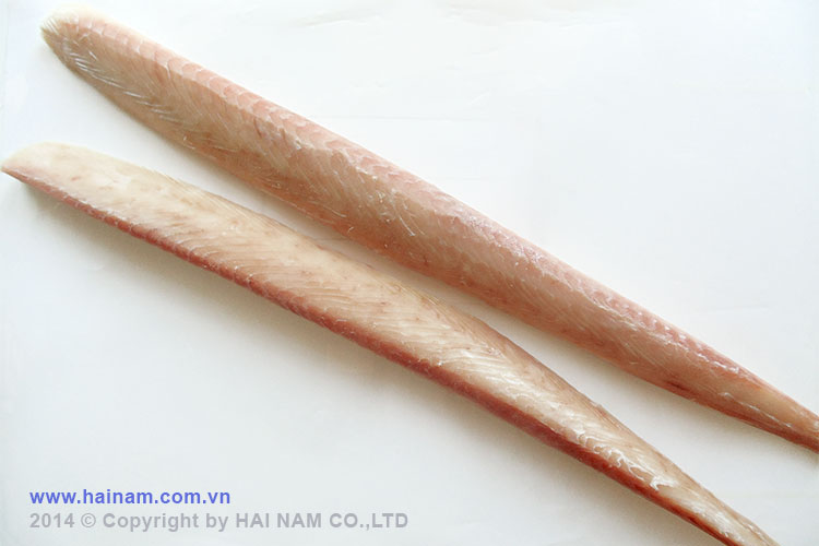 Wahoo loin skinless boneless<br />Latin name: Acanthocybium solandi<br />Size: 300-500gr, 500-800gr
